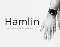 Hamlin - The Typeface for Minimalism