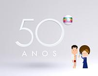 Globo 50 Anos