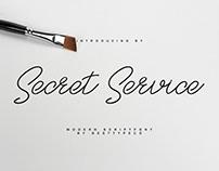 Free Secret Service Script Font