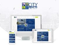 City Apartments Website design