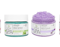 La Palm Spa Products label update