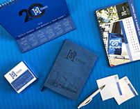 Разработка юбилейного логотипа ИСР - Транс
