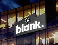 blank's corporate brand design.