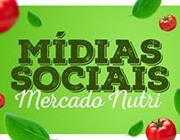 Mercado Nutri │ Mídias Sociais