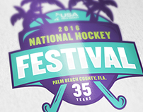 USAFH National Hockey Festival Logo