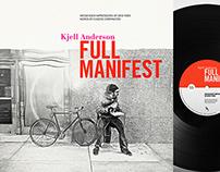 Kjell Anderson: Full Manifest / Album Cover