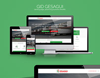 GID Gesagui - landing-page, presenting business benefit