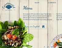 La Carmencita del Puerto website design