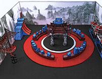 New York Extreme Ninja Gym Concept