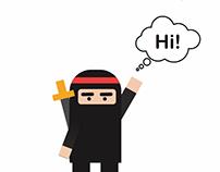 Flicky Ninja story