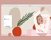 WeTransfer Women's Day Background