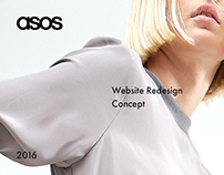 Asos. Redesign & Rethinking Concept