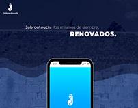 Jabrutouch App design UX UI