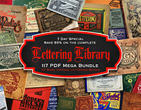 [HOLIDAY SPECIAL] Lettering Library Mega Bundle