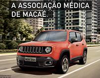 Banner Parceria Jeep com Associação Médica de Macaé