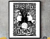 GEMINI / Hand drawing