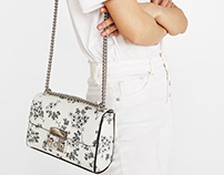 Printed bag for SS18 Bershka collection