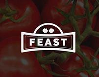 Feast product branding