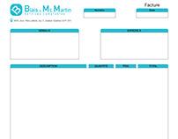 Facture | Blais et Mc Martin Services comptables