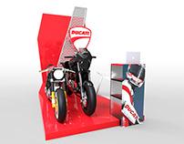 Stand portátil para Ducati® | Serie de Propuestas