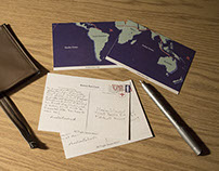 Amelia Earhart Postcards - Student Work