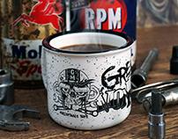Grease Monkeez Coffee Mug