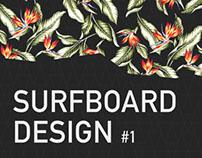 Disrupt Surf design contest - #1 Floral