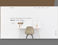 Prototype interior design web site ABSTRACT