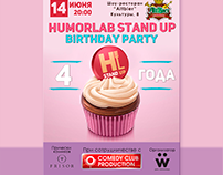 Poster for Stand Up Party
