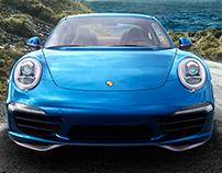 Porsche 911 Ocean walk