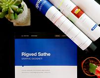 CV Template Powered by Behance