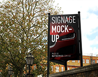 Smart Signage | PSD TEMPLATE MOCKUP