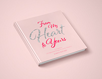 From My Heart to Yours - cover & book design