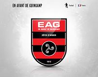 EA Guingamp | logo redesign