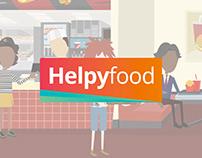 Helpyfood - Vidéo de présentation en motion design