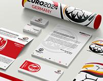 Euro2024 Germany Logo & Branding Proposal