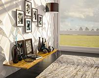 interior design trial render (3dsmax-ps)