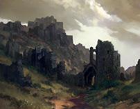 Black Fortress ruins