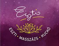 Eszti Massage – arculat/identity