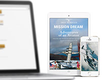 Book design Mission Dream by Iren Dornier