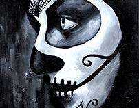 Acrylic on Canvas Portraits