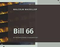 Bill 66 of the ESA   Malcolm MacKillop