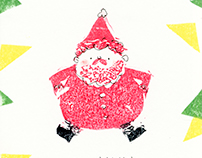 Christmas Lino Print Cards