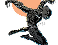 Black Panther Illustration