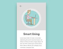 Smart using app