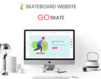 SKATEBOARD SHOP WEB DESIGN