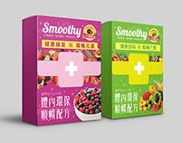 【健康綠築】Nutrition Supplement Package Design