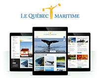 Québec maritime - site Web