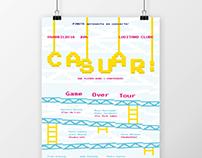 CASUAR: // A3 poster + FB cover