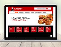 El Sabroso web design